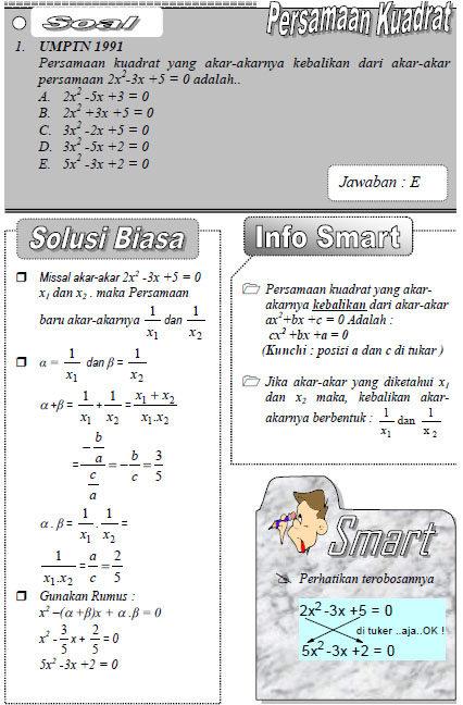 Rumus Praktis Matematika Smart